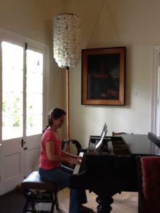 Cymber Quinn, piano teacher, Hilo Hawaii