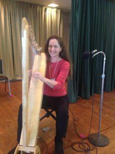 Cymber Lily Quinn, harpist, teacher